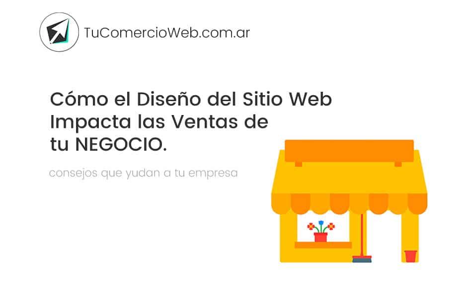 Cómo el Diseño del Sitio Web Impacta las Ventas por Internet
